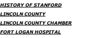 HISTORY OF STANFORD